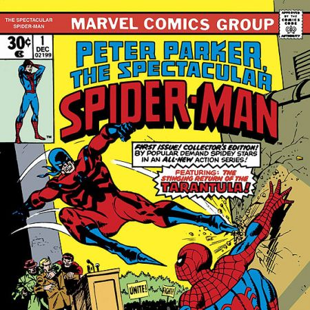 ESSENTIAL PETER PARKER, THE SPECTACULAR SPIDER-MAN VOL. COVER