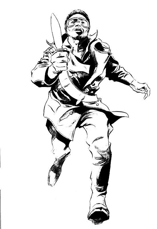 Blade: Black & White (Trade Paperback)