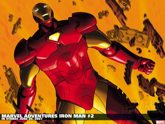 Marvel Adventures Iron Man (2007) #2 Wallpaper