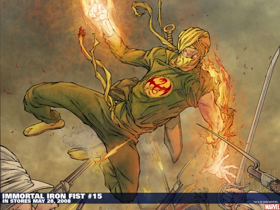 Immortal Iron Fist (2006) #15 Wallpaper