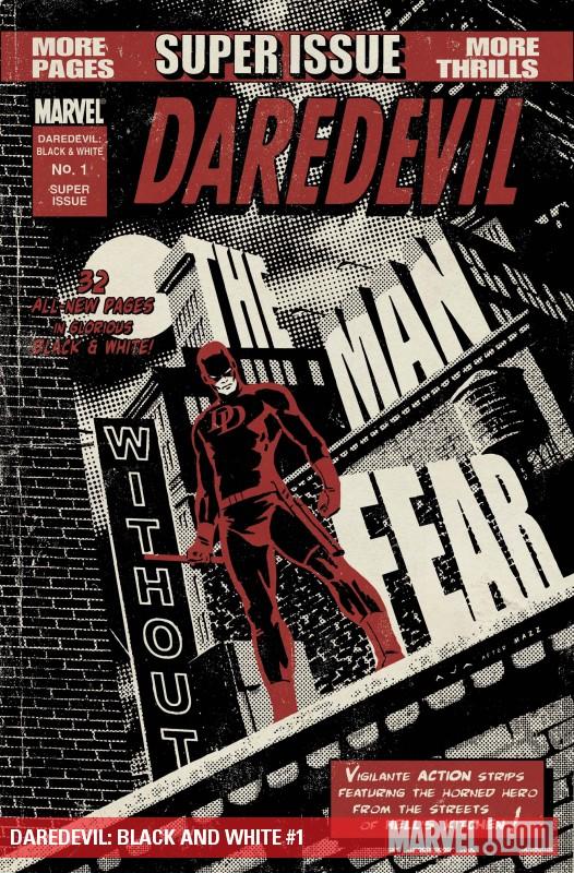 Daredevil: Black and White (2010) #1