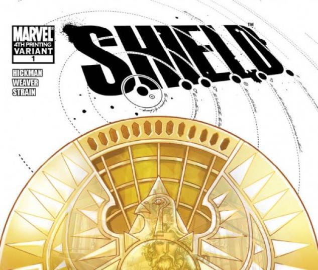 S.H.I.E.L.D. #1 FOURTH PRINTING VARIANT by Dustin Weaver