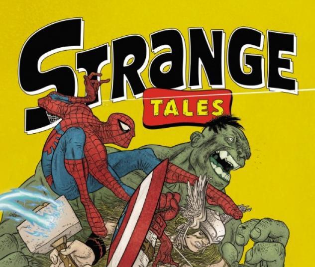 STRANGE TALES II #1 cover by Rafael Grampa