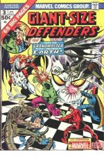 Giant-Size Defenders (1974) #3 cover