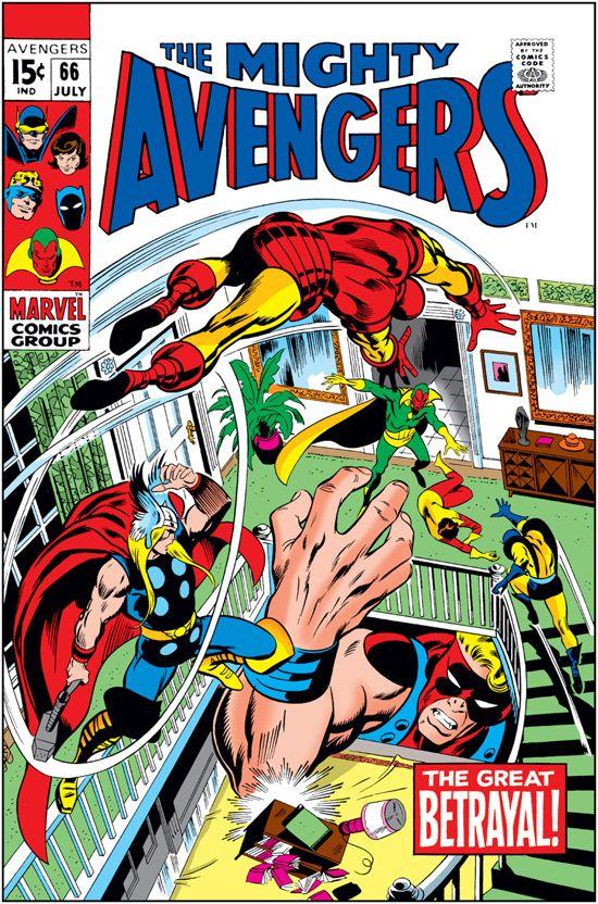 Avengers (1963) #66
