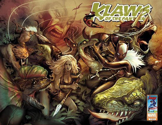 Klaws of the Panther (2010) #1