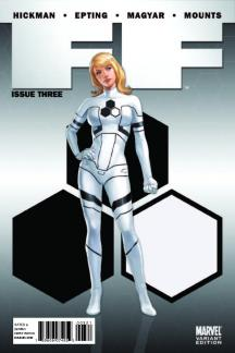FF (2010) #3 (CHARACTER VARIANT )
