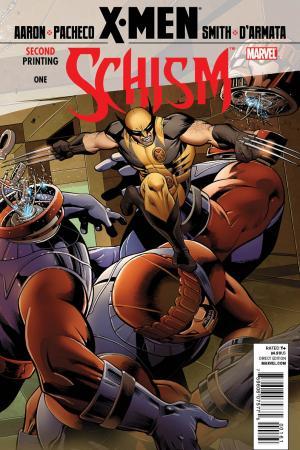 X-Men: Schism (2011) #1 (2nd Printing Wolverine Variant)