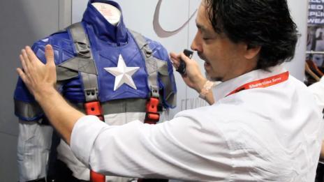 SDCC 2011: UD Replicas' Marvel Suits