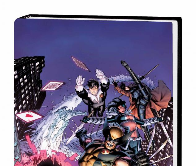 ASTONISHING X-MEN: NORTHSTAR HC WEAVER COVER