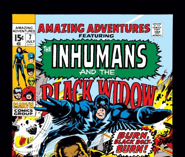 Amazing Adventures (1970) #7 Cover