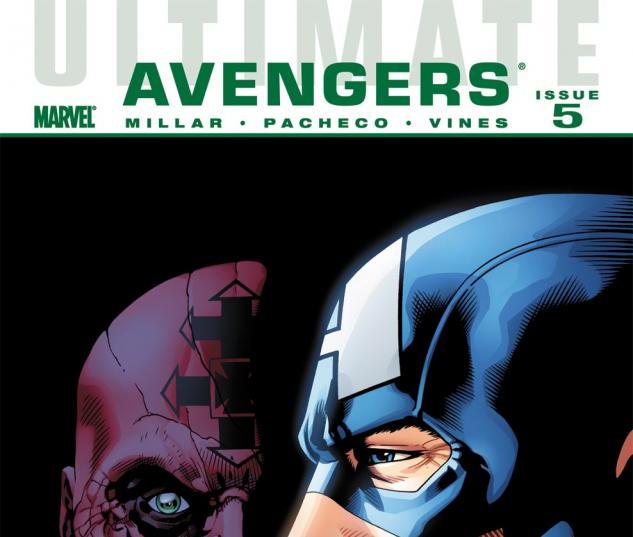 Ultimate Comics Avengers (2009) #5 Cover