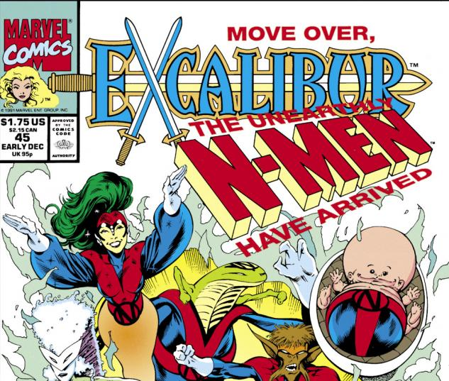 Excalibur (1988) #45 Cover