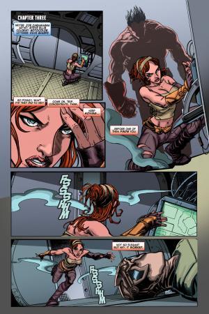 NAMCO ENSLAVED CUSTOM COMIC (2010) #3