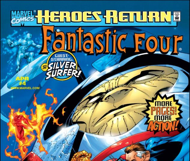Fantastic Four (1997) #4 Cover