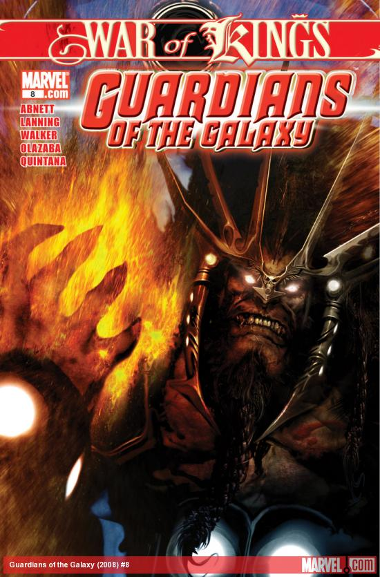 Guardians of the Galaxy (2008) #8