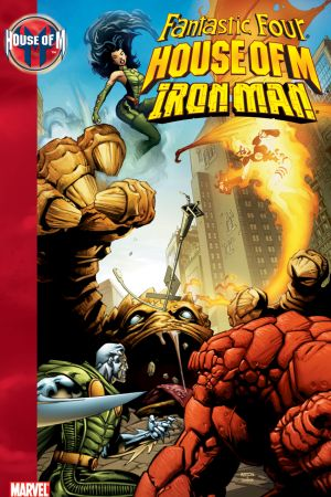 House of M: Fantastic Four/Iron Man (Trade Paperback)