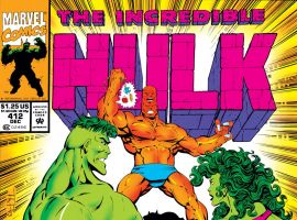 Incredible Hulk (1962) #412 Cover