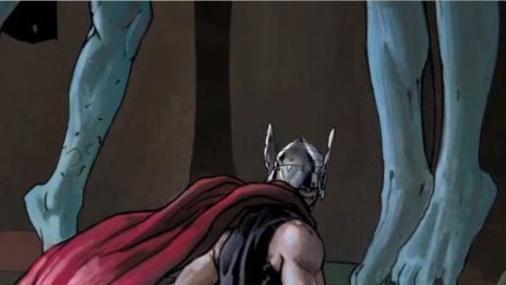 Marvel AR: Art Evolution of Thor