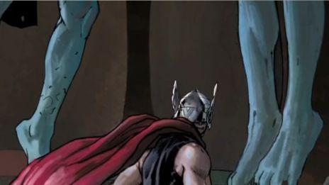 Marvel AR: Art Evolution of Thor
