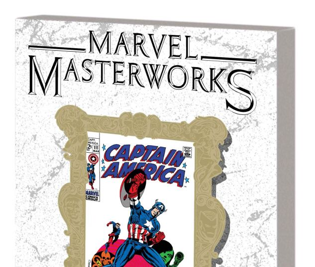 MARVEL MASTERWORKS: CAPTAIN AMERICA VOL. 3 TPB VARIANT (DM ONLY)