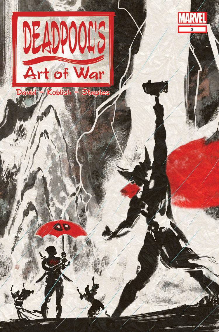 Deadpool's Art of War (2014) #2