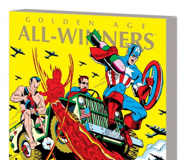 MARVEL MASTERWORKS: GOLDEN AGE ALL-WINNERS VOL. 2 TPB