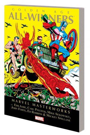 Marvel Masterworks: Golden Age All-Winners (Trade Paperback)