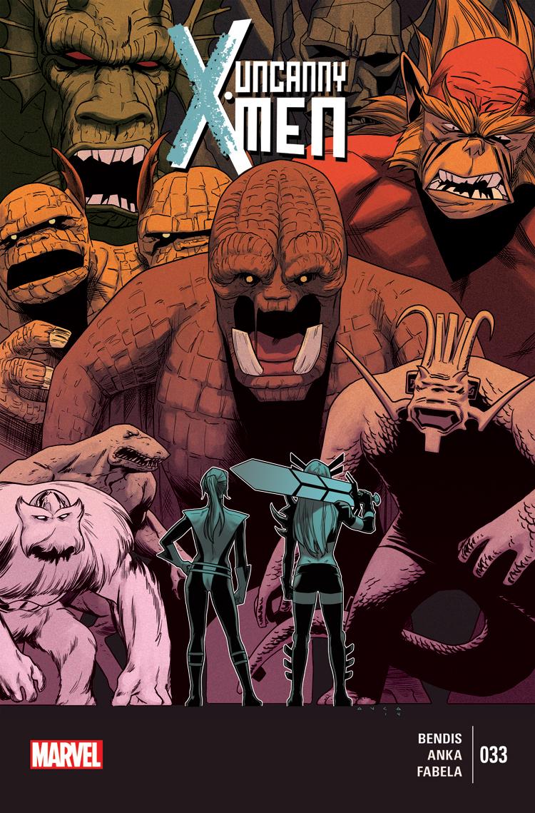 Uncanny X-Men (2013) #33