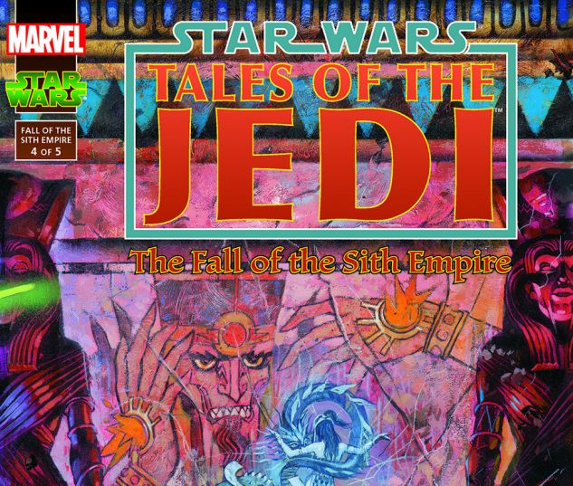 Star Wars: Tales Of The Jedi - The Fall Of The Sith Empire (1997) #4