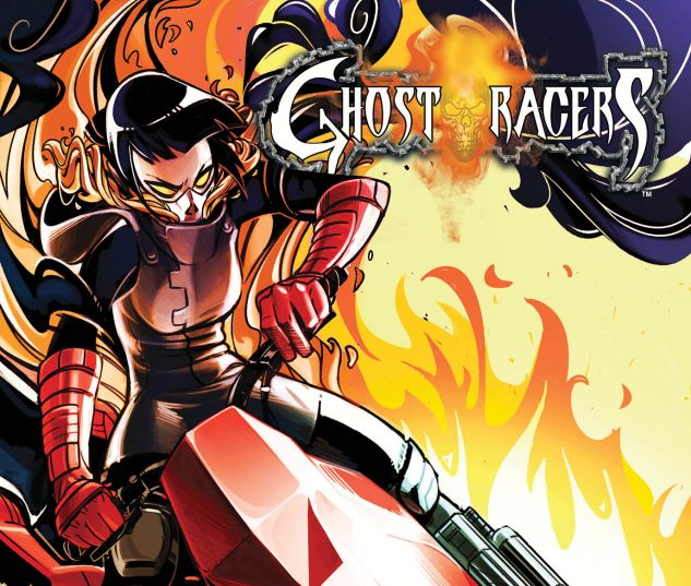 GHOST RACERS 4 LEE ALEJANDRA BLAZE VARIANT (SW, WITH DIGITAL CODE)