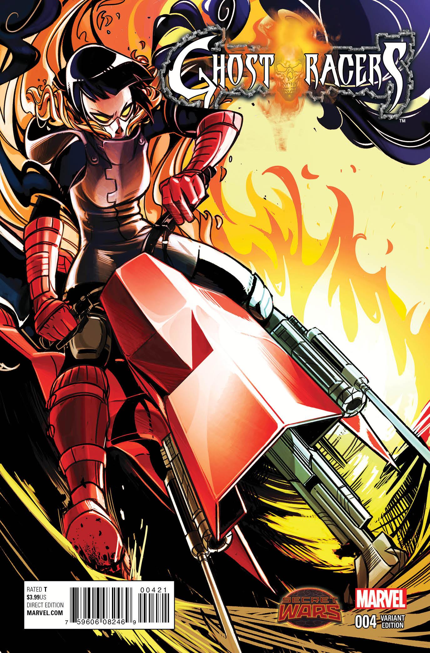 Ghost Racers (2015) #4 (Lee Alejandra Blaze Variant)