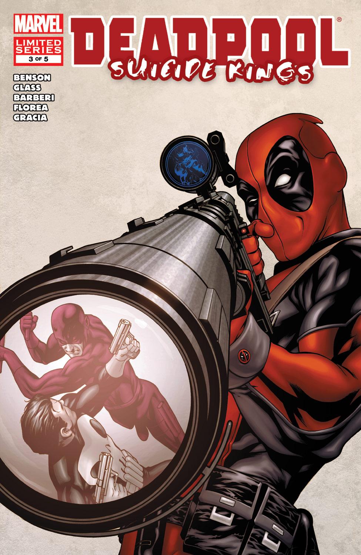 Deadpool: Suicide Kings (2009) #3