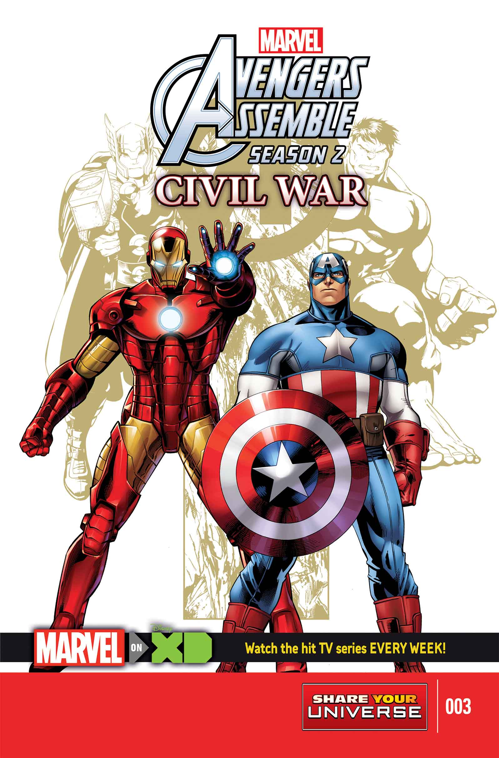 Marvel Universe Avengers Assemble: Civil War (2016) #3