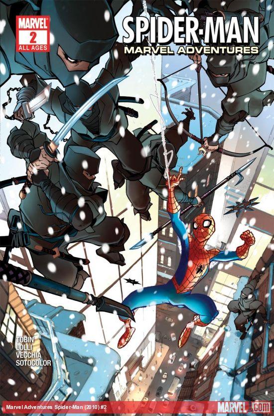 Spider-Man Marvel Adventures (2010) #2