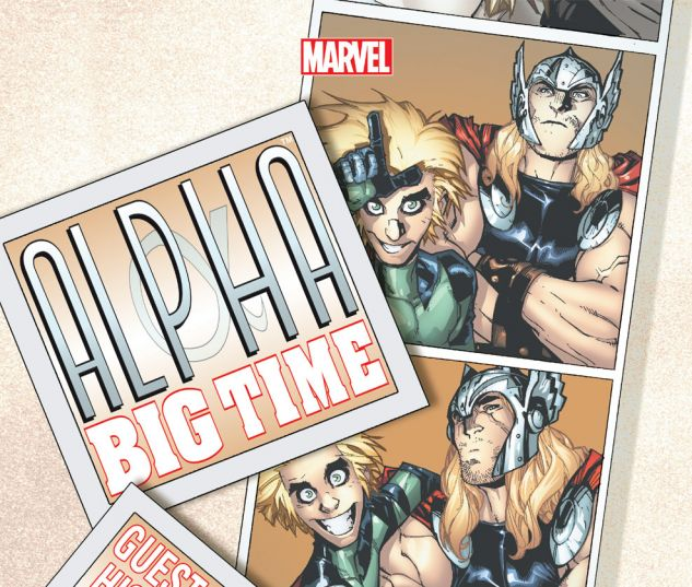 ALPHA (2013) #4 Cover