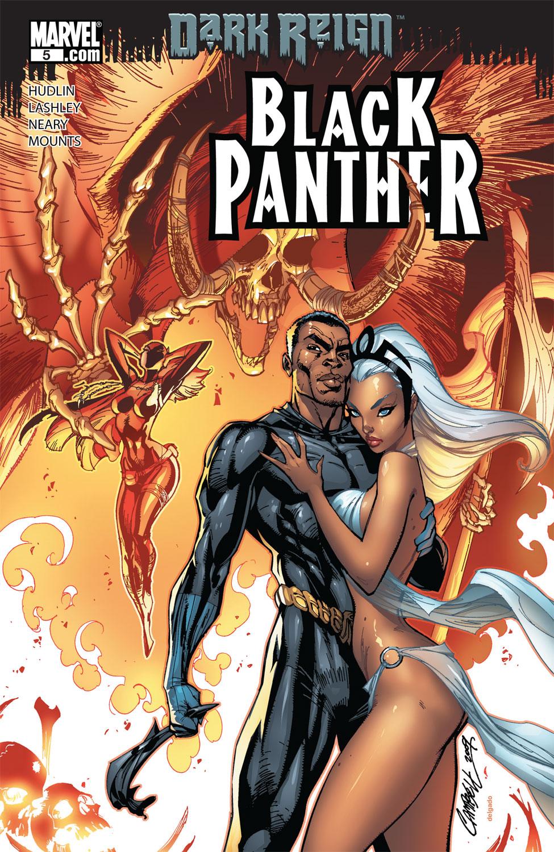 Black Panther (2008) #5