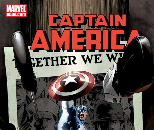 CAPTAIN AMERICA (2004) #15 Cover