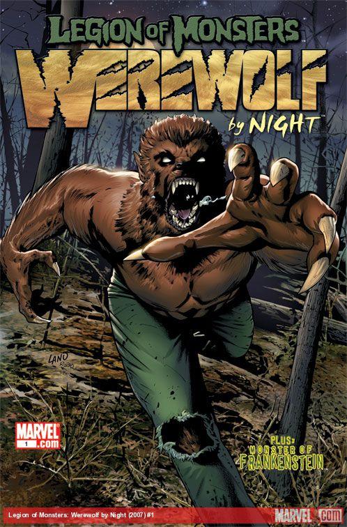 Legion of Monsters: Werewolf by Night (2007) #1