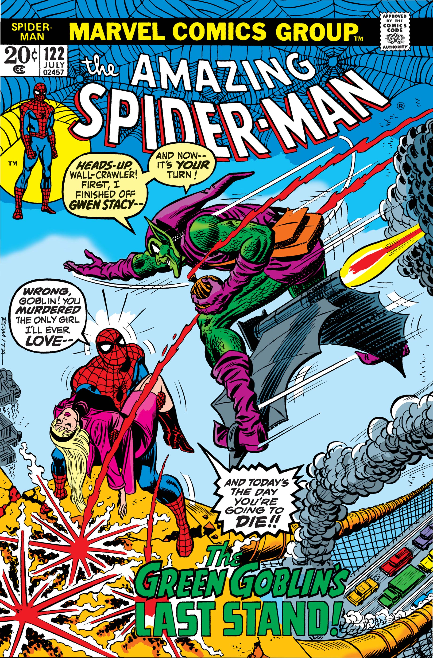 The Amazing Spider-Man (1963) #122