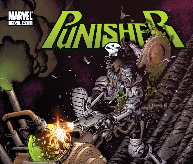 PUNISHER (2008) #16