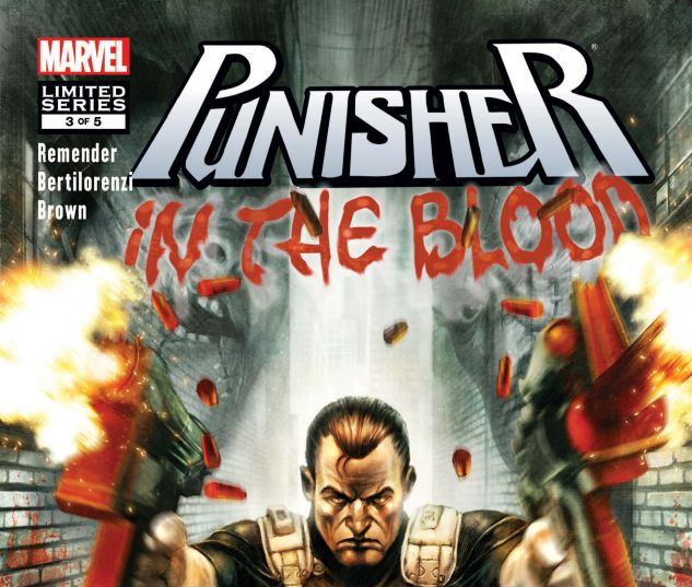 PUNISHER: IN THE BLOOD (2010) #3