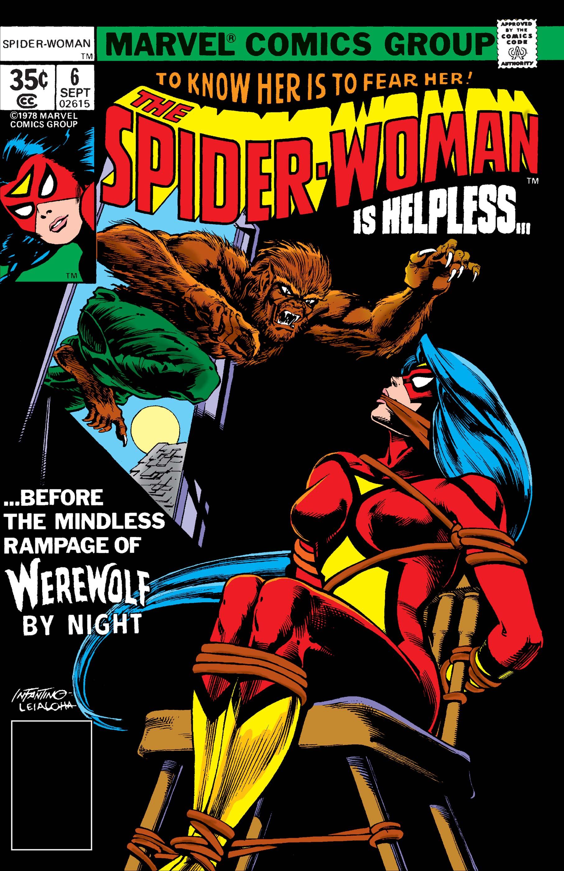 Spider-Woman (1978) #6