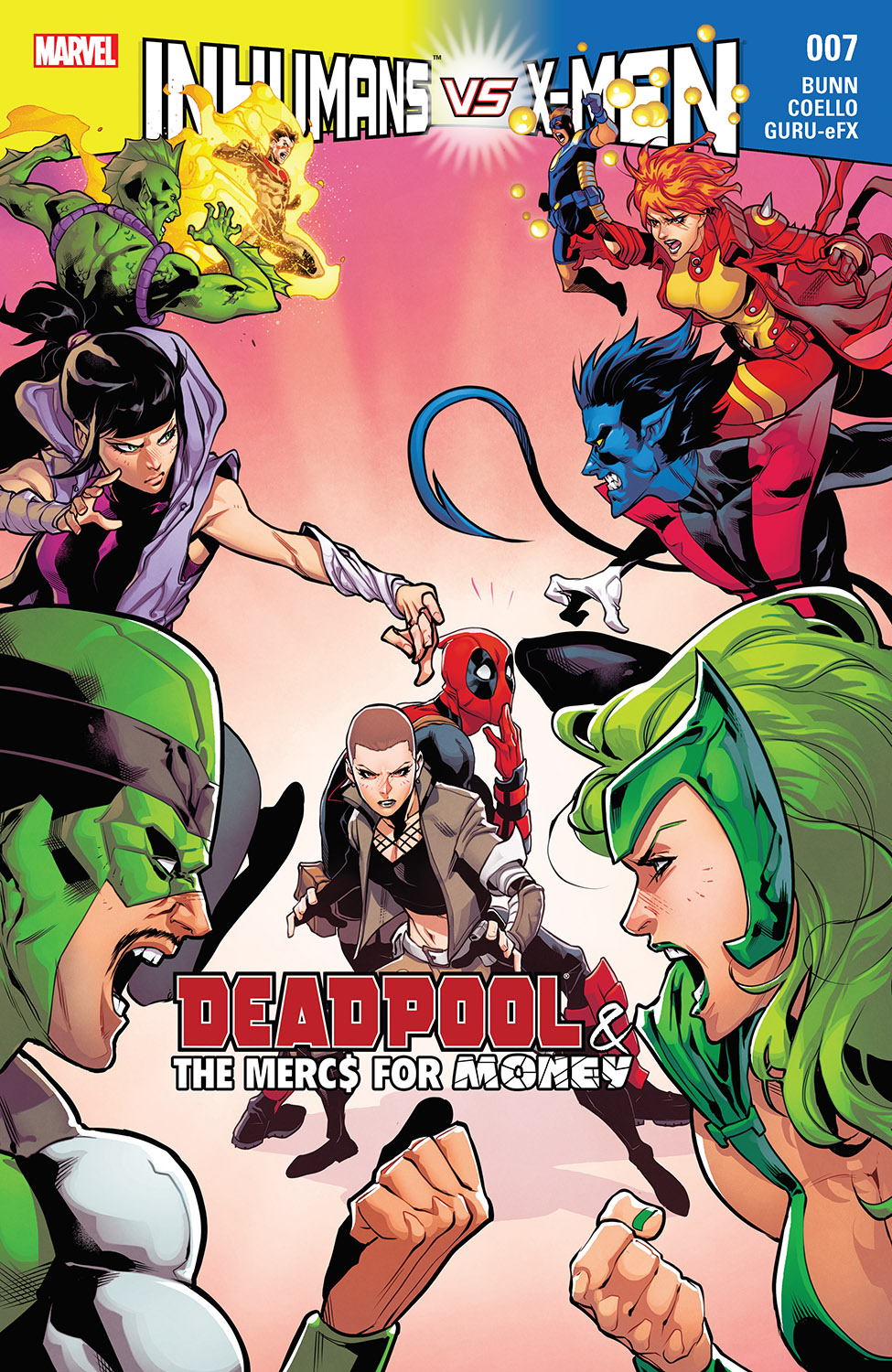 Deadpool & the Mercs for Money (2016) #7