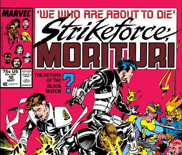 Strikeforce: Morituri (1986) #10