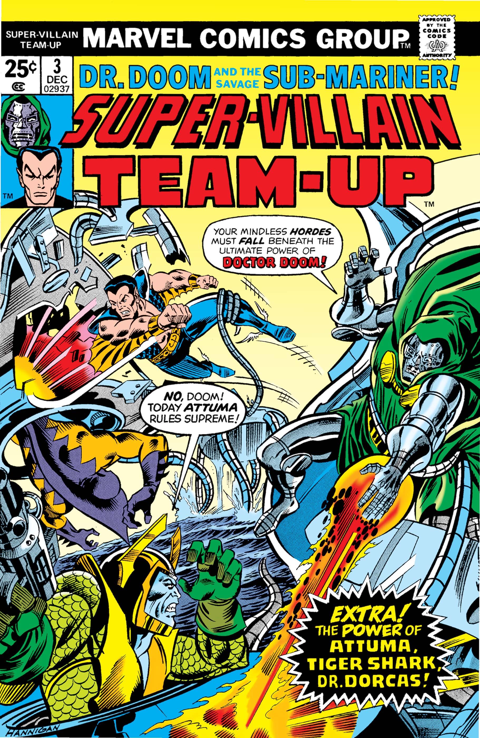 Super-Villain Team-Up (1975) #3