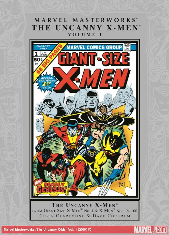 Marvel Masterworks: The Uncanny X-Men Vol. 1 (Trade Paperback)