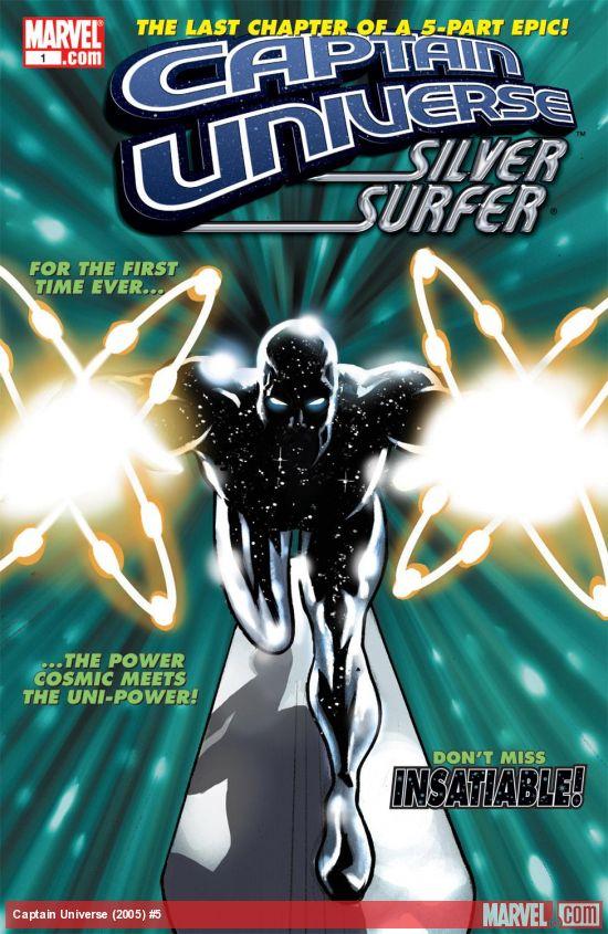 Captain Universe (2005) #5