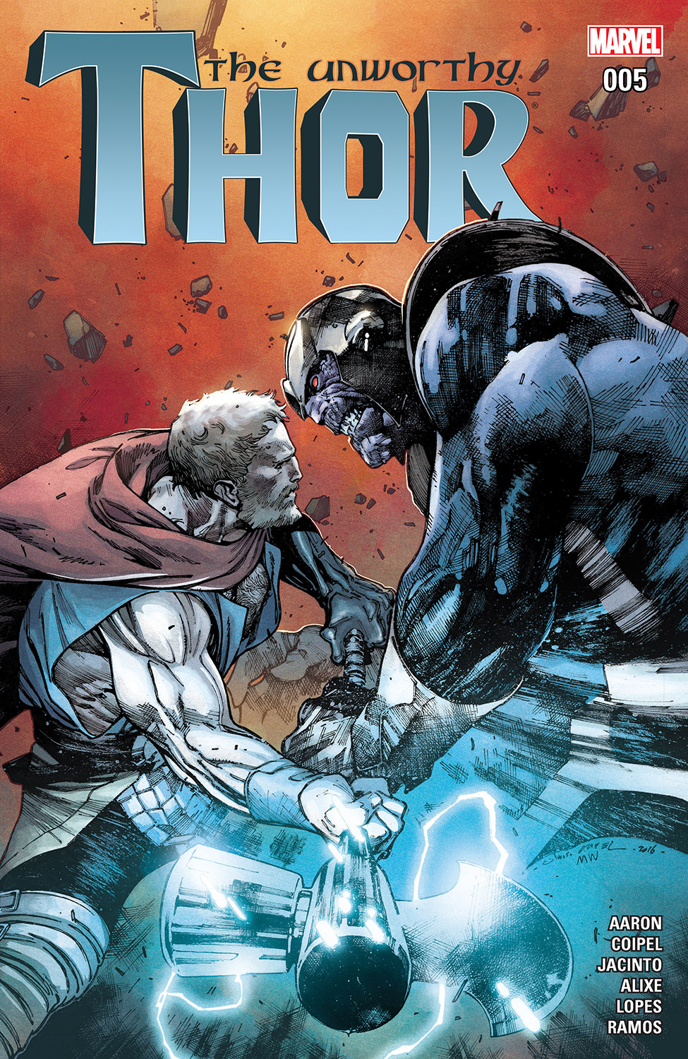 The Unworthy Thor (2016) #5