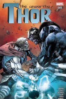 Afbeeldingsresultaat voor The Unworthy Thor #5 jason aaron